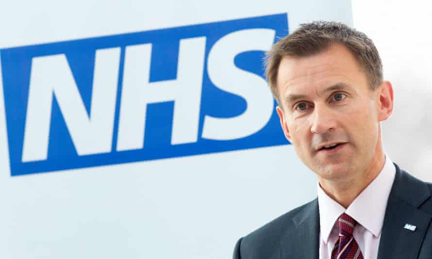 The health secretary, Jeremy Hunt, wants the NHS to become a seven-day service