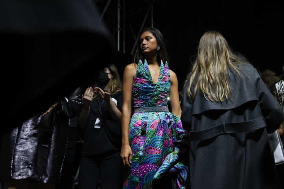 Behind the scenes at the First Nations Fashion + Design show