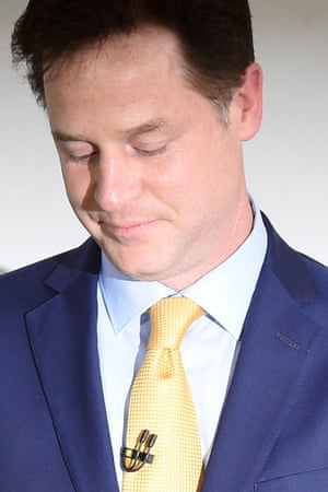 Nick Clegg resigned and said history would judge his party more kindly than voters