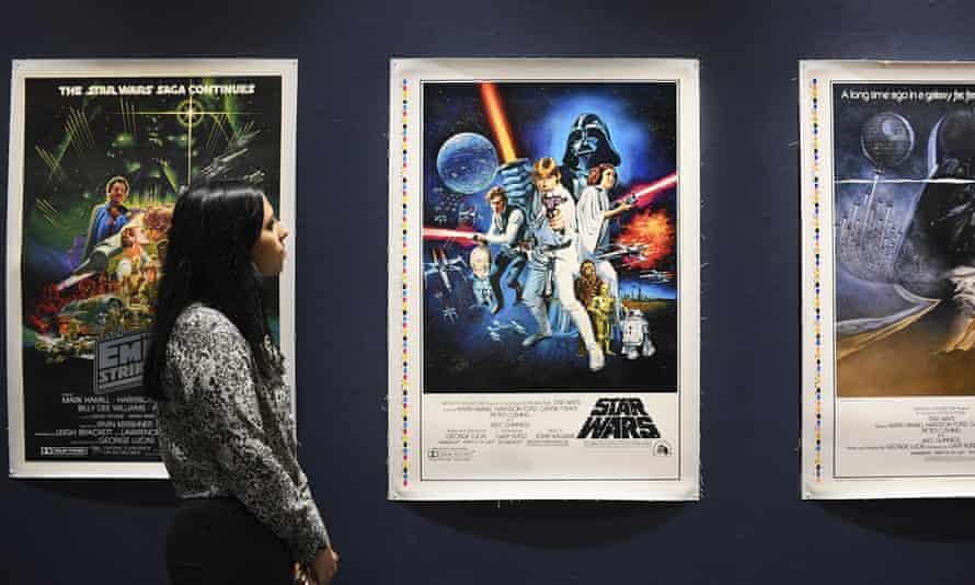 Star Wars memorabilia often fetches high prices.