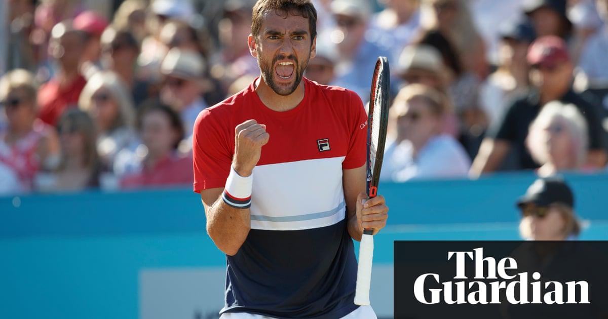Marin Cilic fights back to win Queens Club title against Novak Djokovic – Trending Stuff