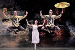 Jarring 19th-century worldview … last year's Nutcracker by Birmingham Royal Ballet; this year's version has been revised to be more sensitive.