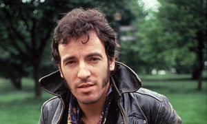 Bruce Springsteen around the time of his 1982 solo album Nebraska