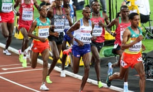 Jemal Yimer finished fifth in the world championships, behind Mo Farah and unremarked by any commentator.