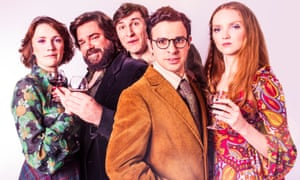 Charlotte Ritchie, Matt Berry, Tom Rosenthal, Simon Bird and Lily Cole