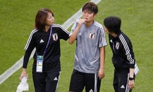 The docs assist Shiori Miyake.