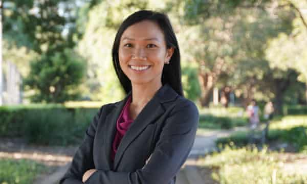 Chris Hayes publicly backed local lawyer Tu Le, pictured, to replace him in representing Fowler, which Labor holds with a 14% margin