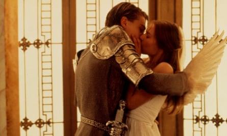 Leonardo DiCaprio and Claire Danes in Romeo + Juliet.