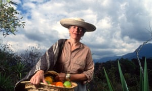 'Mexico, as a country, will be eternally indebted to her efforts': Diana Kennedy at home in Michoacan.