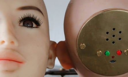 Sex doll heads at the WMDOLL factory in Zhongshan, Guangdong Province, China.