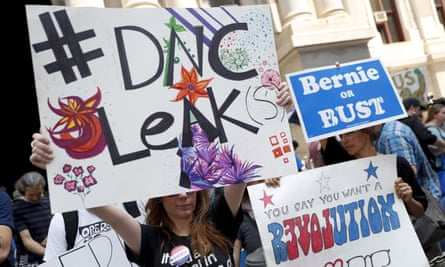 DNC leak protest