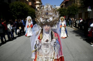 Holy Week procession in Marsala, Sicily