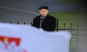 Law and Justice party leader Jarosław Kaczyński.