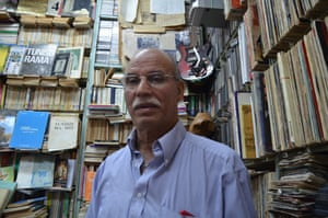 Faouzi Hedhili, the owner, says the 70s and 80s were a golden age for the bookshop, which opened soon after the second world war.