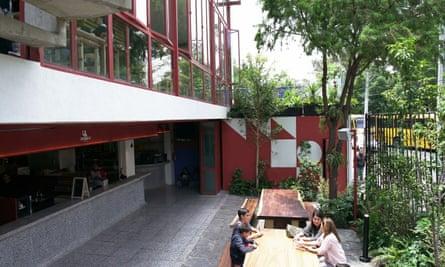 Mercadoroma Coyoacán, Mexico.
