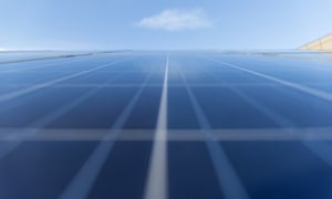 BT image of solar panels at BT's innovation labs, Adastral Park, Suffolk