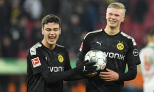 European Roundup Haaland Hits Hat Trick In 20 Minutes On Dortmund Debut Football The Guardian