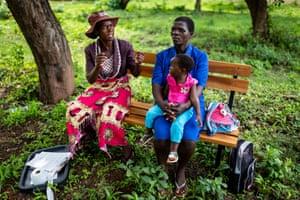 Friendship Benches Zimbabwe by Brent Stirton