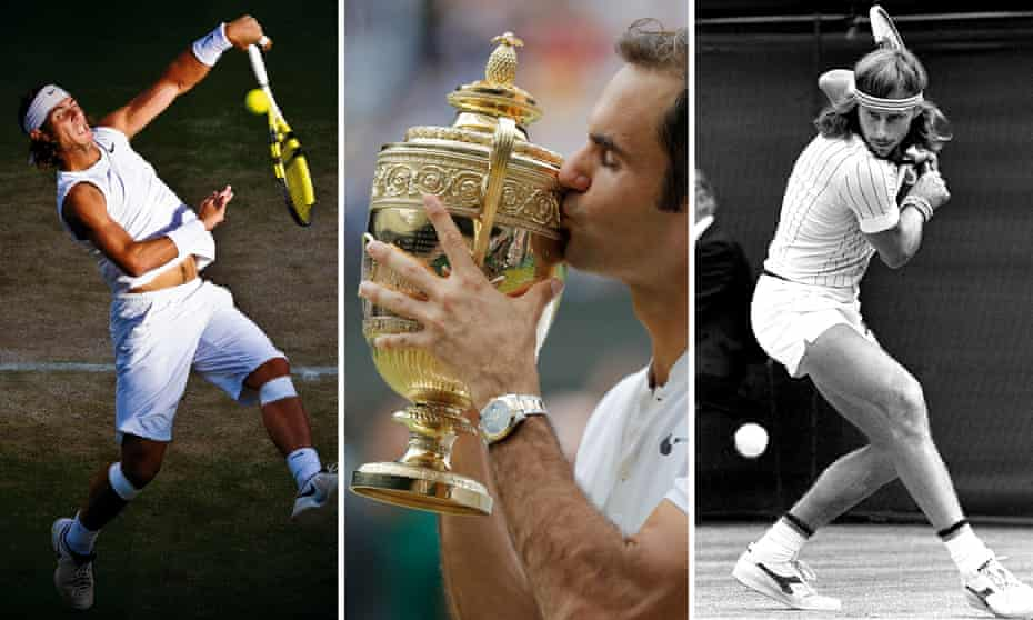 Rafael Nadal, Roger Federer and Bjorn Borg were all popular with our readers.