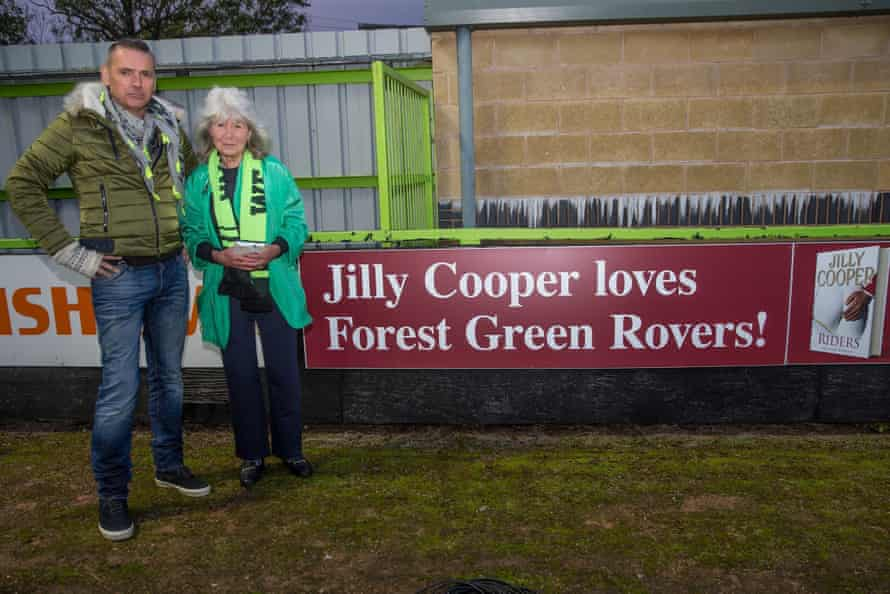 Local author Jilly Cooper is a supporter of the club.