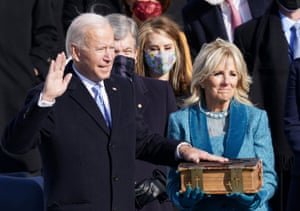This is democracy's day': Biden sworn in as 46th president of the United  States | US news | The Guardian