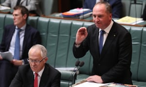 Barnaby Joyce has reprimanded Tony Abbott for suggesting there is a link between terrorism and Islam.
