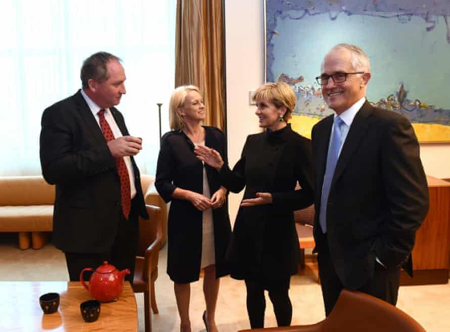 Australian coalition leaders