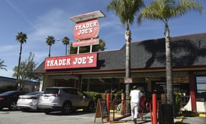 The original Trader Joe's grocery store in Pasadena, California.