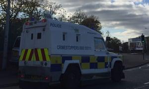 Grenade incident in Belfast