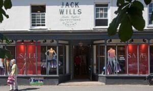 Jack Wills in Burnham Market