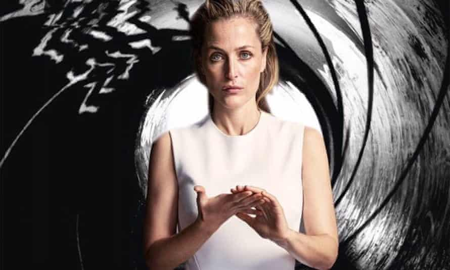 Gillian Anderson features as Jane Bond in this mocked-up 007 poster posted by the actor on Twitter.