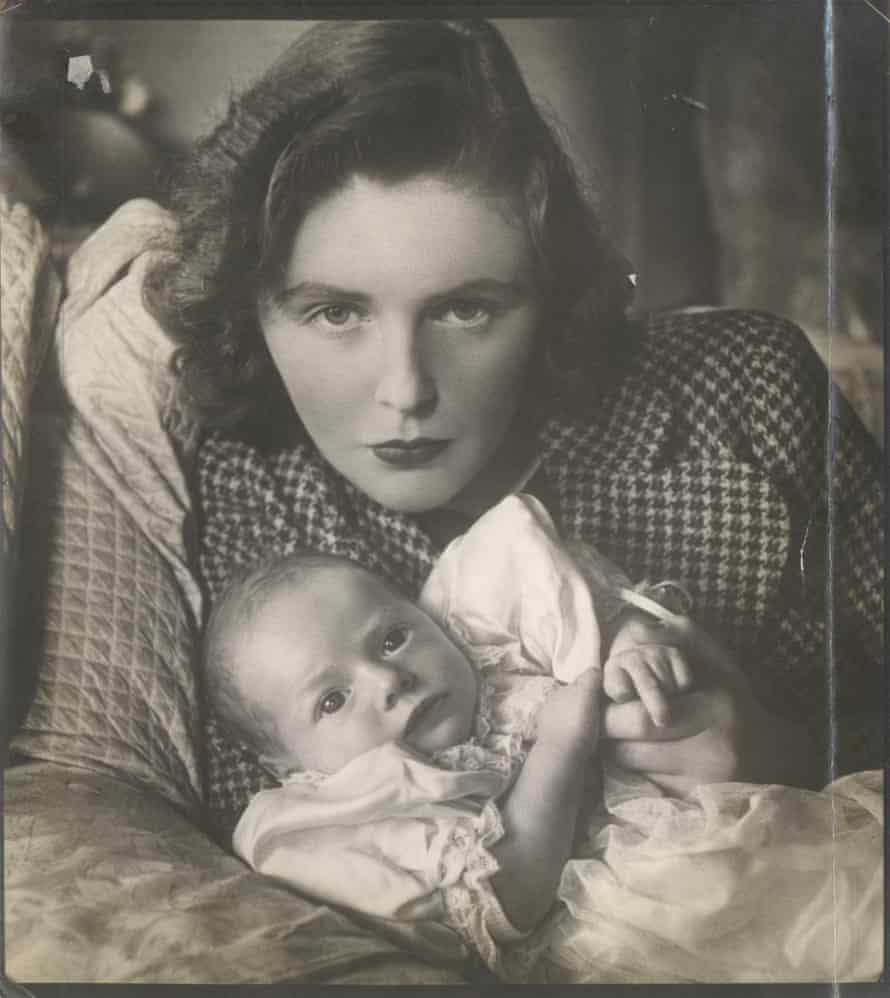 Mrs Randolph Churchill and six week old son, Winston Spencer Churchill 1940 by Cecil Beaton