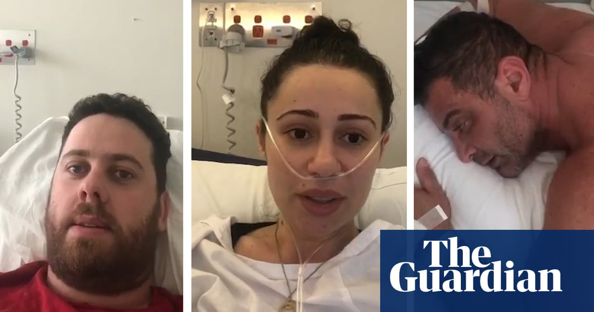 'It's terrible': NSW Covid-19 patients share stories from hospital in Sydney, Australia – video