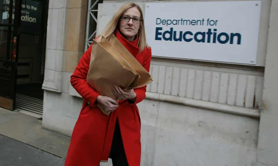 Laura McInerney with free school documents