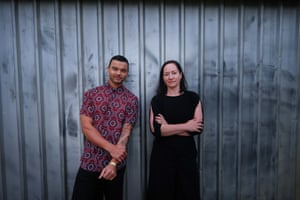 Guy Sebastian and Dr Anita Collins.