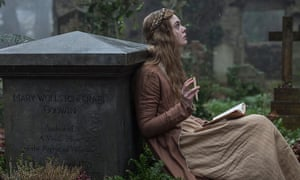 'Given the unusual facts of the author's life, it feels like a far more offbeat and far less rigid film could have been made here' ... Elle Fanning in Mary Shelley.