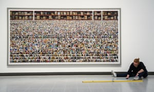 Andreas Gursky retrospective at the Hayward Gallery, London.