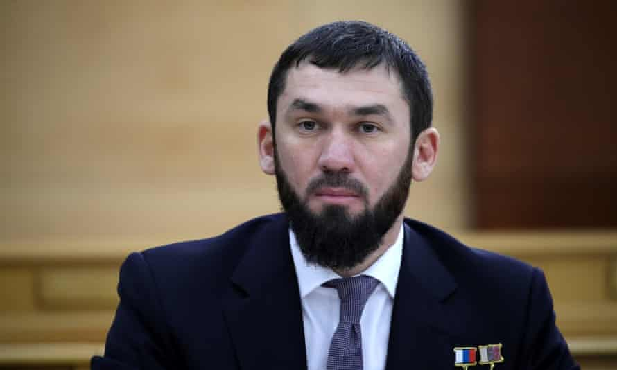 The chair of the Chechen parliament, Magomed Daudov