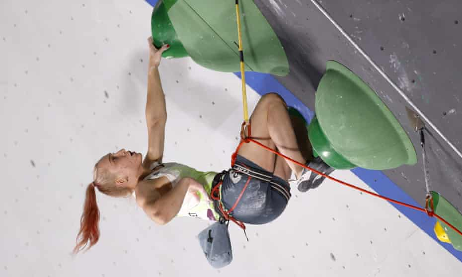 Janja Garnbret was above everyone else in climbing, which made its debut in Tokyo.