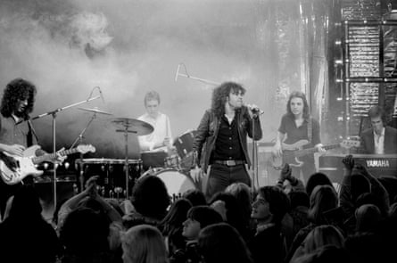 Cold Chisel appears at the Countdown in 1978.