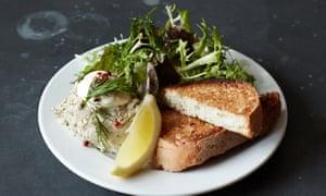 The Red Lion's mackerel pâté: 'wonderful, light, punchy.'