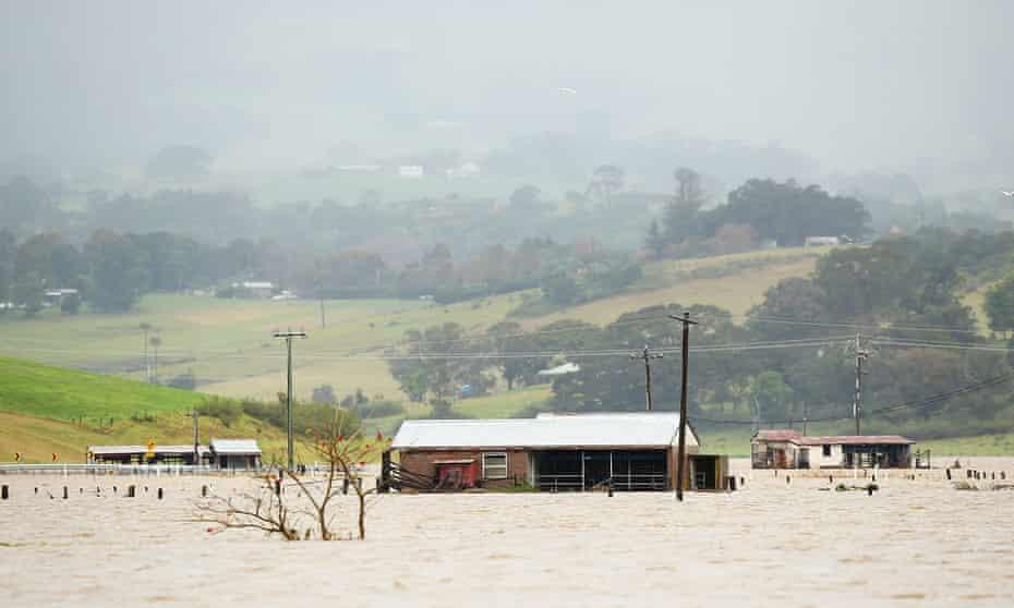 NSW flood waters