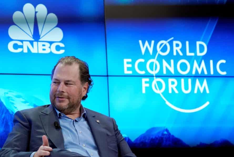 Marc Benioff, chief executive of Salesforce