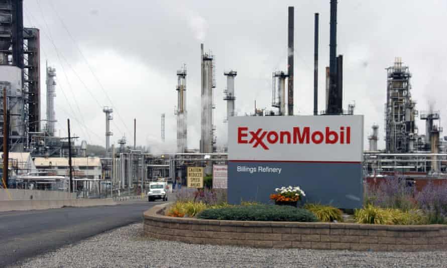 ExxonMobil's Billings refinery
