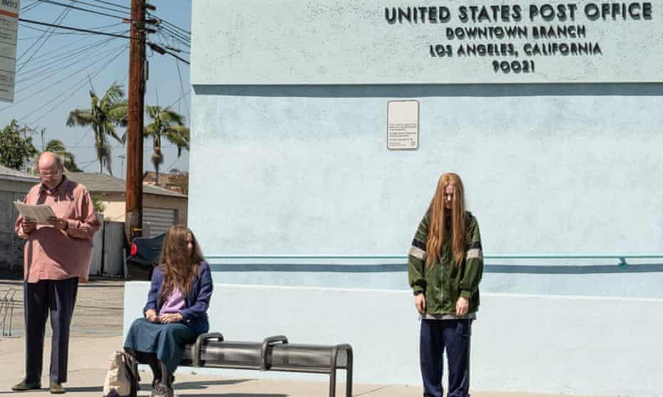 Evan Rachel Wood, Richard Jenkins and Debra Winger appear in Kajillionaire