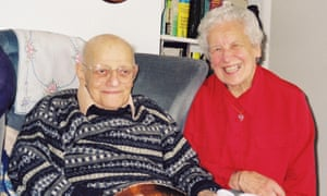 Alfred and Lore Gordon in 2001.