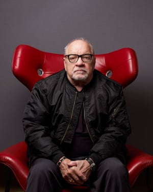 Film director and writer Paul Schrader photographed at the Mayfair Hotel in London