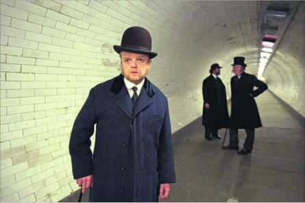 Toby Jones as Verloc in the new BBC1 adaptation of The Secret Agent