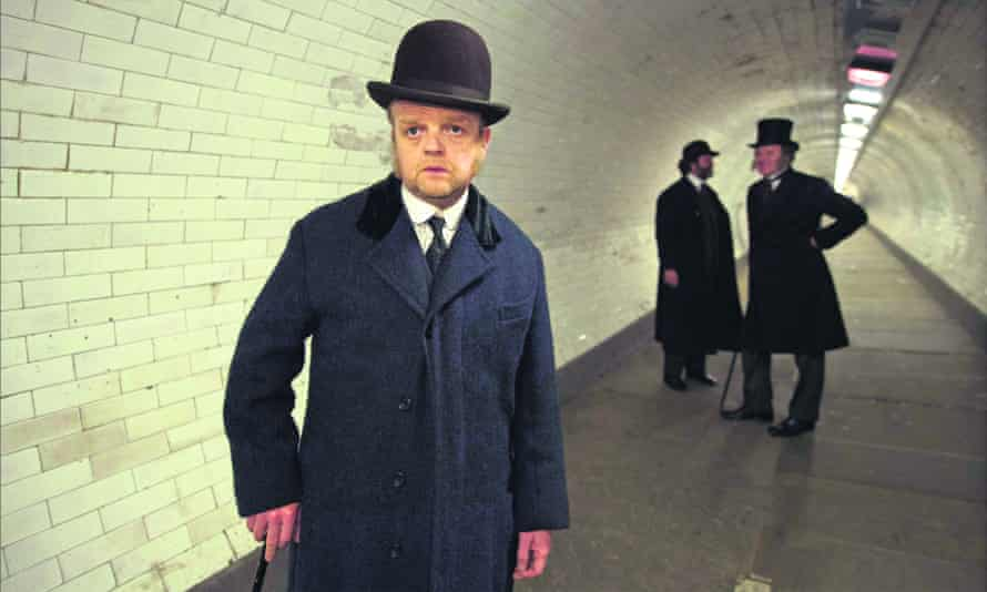 Bourgeois pieties … Toby Jones in the 2016 TV adaptation of The Secret Agent.