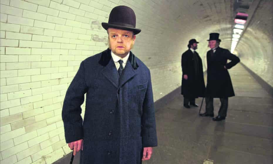 Bourgeois pieties … Toby Jones in the 2016 TV adaptation of The Secret Agent.